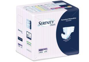 Serenity - Pannoloni Classic Maxi Taglia L Confezione 15 Pezzi