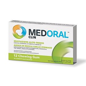 Medoral Clin Gum 12 Chewing gum
