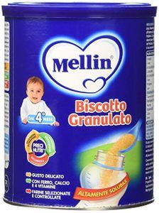 Mellin - Biscotti Granulato Confezione 400 Gr