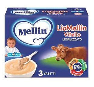 Mellin - Liomellin Vitello Liofilizzato Confezione 3X10 Gr