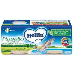 Mellin - Omogeneizzato Al Nasello Confezione 2X80 Gr