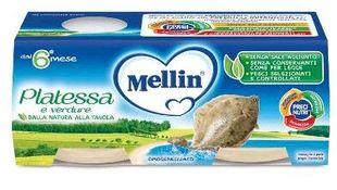 Mellin - Omogeneizzato Platessa Confezione 2X80 Gr
