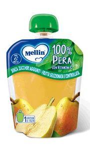 Mellin - Pouches 100% Pera Confezione 90 Gr