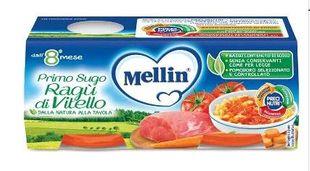 Mellin - Primo Sugo Ragù Di Vitello Confezione 2X80 Gr