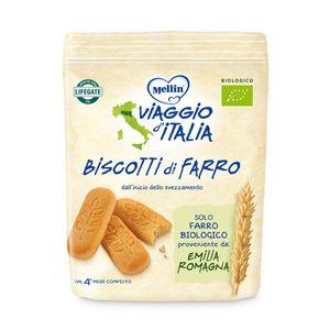 Mellin - Viaggio Italia Biscotti Farro Confezione 150 Gr