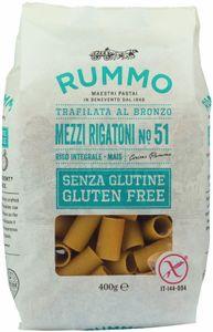 Rummo - Mezzi Rigatoni N51 Senza Glutine Confezione 400 Gr