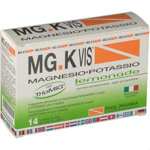 MG K Vis - Integratore Magnesio e Potassio Gusto Limone Confezione 14 Bustine
