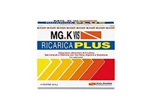 Mg K Vis - Ricarica Plus Confezione 14 Bustine