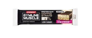 Enervit - Gymline Muscle Protein Barretta Doppio Strato 27% Milk-Ciok Confezione 45 Gr