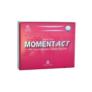 Moment - Act Confezione 6 Compresse