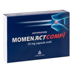 Momentactcompi - 25 Mg Confezione 10 Capsule