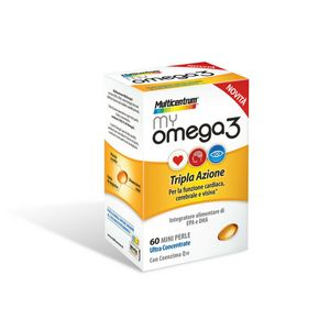 Multicentrum - MyOmega 3 Confezione 60 Mini Perle