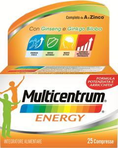 Multicentrum - Mc Energy Confezione 25 Capsule