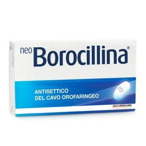 Neoborocillina - 1.2 + 20 Mg Confezione 16 Pastiglie  (Scadenza Prodotto 28/12/2021)