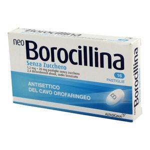Neoborocillina - Senza Zucchero Confezione 16 Pastiglie