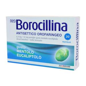 NeoBorocillina - Antisettico Orofaringeo Confezione 20 Pastiglie