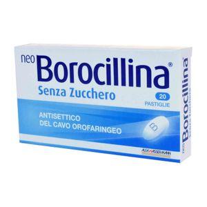 NeoBorocillina - Senza Zucchero Confezione 20 Pastiglie