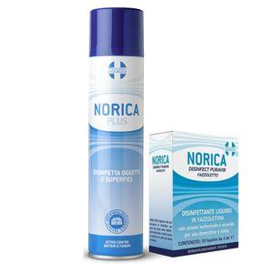Norica Plus - Confezione 300 Ml + Disinfettante Puravir Fazzoletti 10 Pezzi In OMAGGIO
