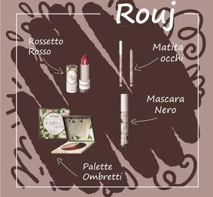 Box Rougj - Radici Toscane Make Up Confezione 4 Pezzi