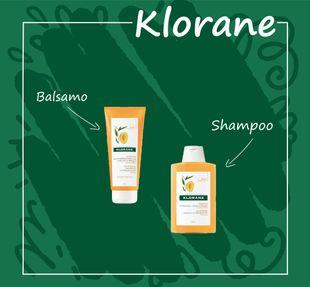 Box Klorane - Burro Di Mango Confezione 2 Pezzi