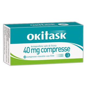 Okitask - 40 Mg Confezione 20 Compresse