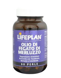 Lifeplan - Olio Fegato Di Merluzzo Confezione 60 Perle