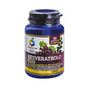 Optima naturals - Colours Of Life Resveratrolo Plus Confezione 60 Compresse
