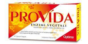 Optima Naturals - Provida Enzimi Digestivi Confezione 30 Capsule Vegetali