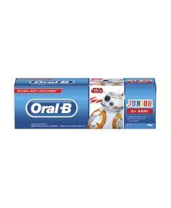 Oral B - Dentifricio Junior Star Wars 6-12 Confezione 75 Ml