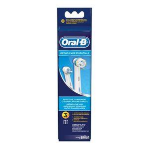 Oral B - Refill Orthocare Essentials Testine Di Ricambio Confezione 3 Pezzi