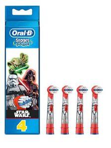 Oral B - Refill Eb 10 Star Wars Testine Di Ricambio Confezione 4 Pezzi