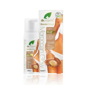 Optima Naturals - Organic Moroccan Glow Self Tan Mousse Light  Mousse Autoabbronzante Leggera Confezione 150 Ml