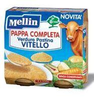 Mellin - Pappa Completa Vitello Confezione 2X250 Gr