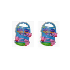 Peppa Pig - Clic Clac Baby Confezione 2 Pezzi