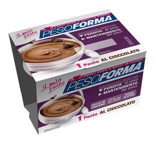 Pesoforma - Coppa Mono Pasto Gusto Cioccolato Confezione 210 Gr