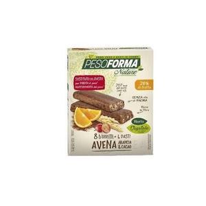 Pesoforma - Nature Barrette Avena Arancia e Cacao Confezione 8 Barrette