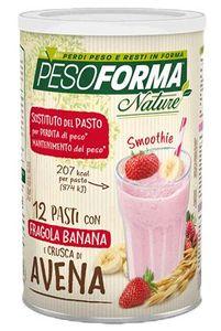Pesoforma - Nature Smoothie Fragola e Banana Confezione 420 Gr