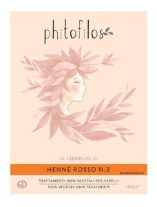 Phitofilos - Hennè Rosso N3 Confezione 100 Gr
