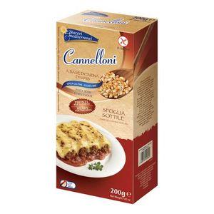 Piaceri Mediterranei - Pasta Mais Cannelli Senza Glutine Confezione 200 Gr