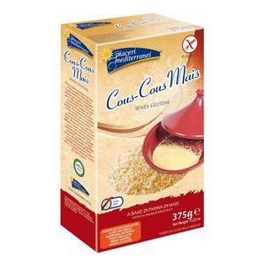 Piaceri Mediterranei - Cous Cous Mais Senza Glutine Confezione 375 Gr