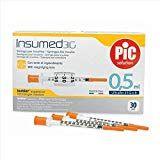 Pic - Insumed Siringa Insulina 0.5 Ml G29 12.7 Mm Confezione 30 Pezzi