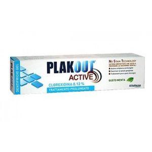PlakOut - Active Dentifricio Clorexidina 0.12% Confezione 75 Ml