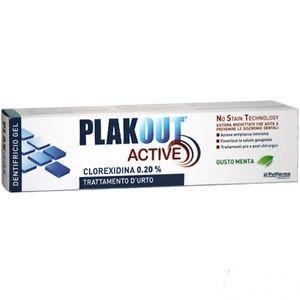 PlakOut - Active Dentifricio Clorexidina 0.20% Confezione 75 Ml