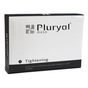 Pluryal - Meso 2 Tightening Soluzione Riempitiva e Modellante A Base Di Acido Ialuronico Con Colina Confezione 3 Fiale Preriempite Da 5 Ml