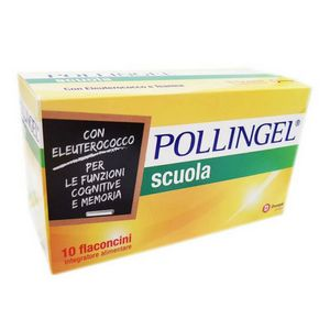 Pollingel - Scuola Confezione 10 Flaconcini