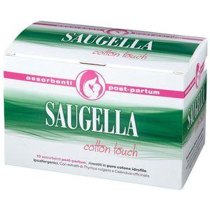 Saugella - Cotton Touch Assorbenti Post Partum Confezione 10 Assorbenti