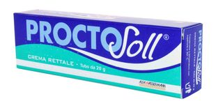 Proctosoll - Crema Rettale Confezione 20 Gr