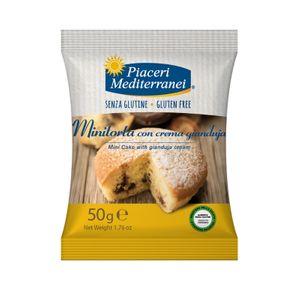 Piaceri Mediterranei - Minitorta Gianduia Senza Glutine Confezione 50 Gr