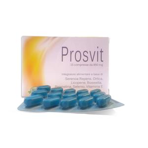 Wellvit - Prosvit Favorisce La Funzionalità Della Prostata Confezione 15 Compresse