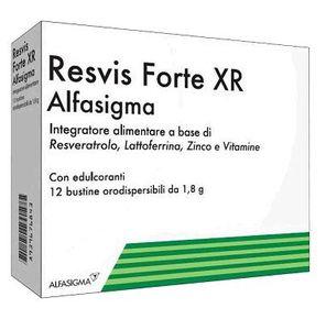 Resvis Forte Xr Biofutura - Confezione 12 Bustine